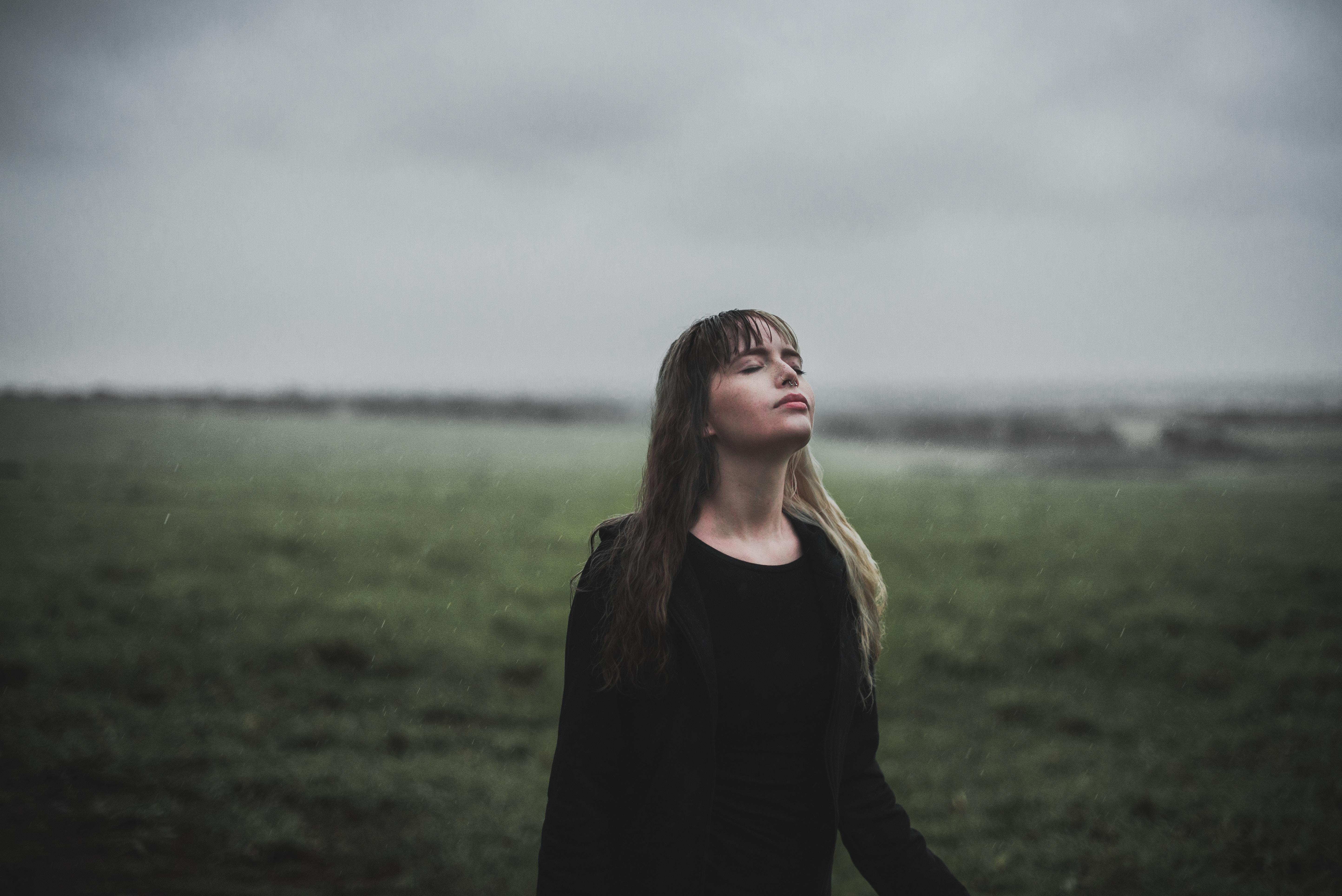 méditation son pluie lâcher prise